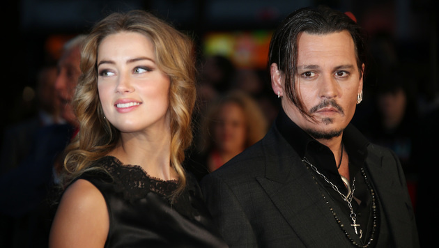 Amber Heard und Johnny Depp (Bild: Joel Ryan/Invision/AP)