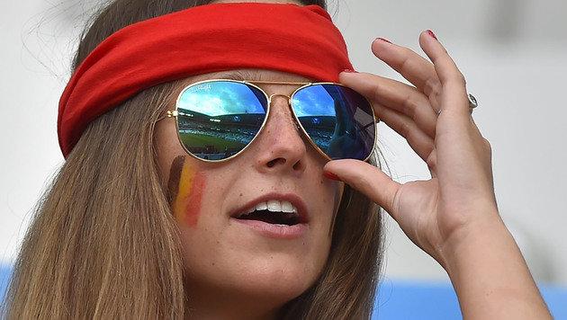 Heiße EM! Die schönsten weiblichen Fans (Bild: AFP or licensors)