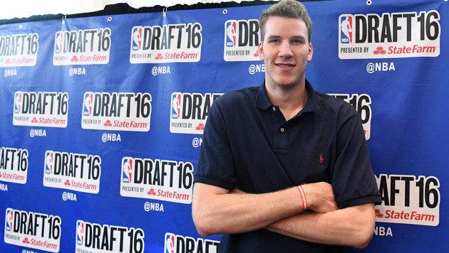 Jakob Pöltl vor NBA-Draft noch unaufgeregt (Bild: APA/HELMUT FOHRINGER)