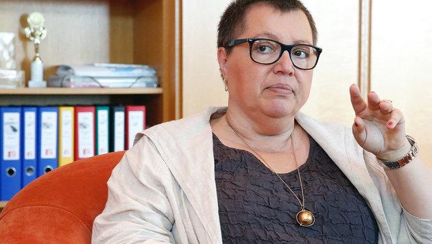"Ministerin Oberhauser: ""Frauen müssen lästig sein"" (Bild: Martin A. Jöchl)"