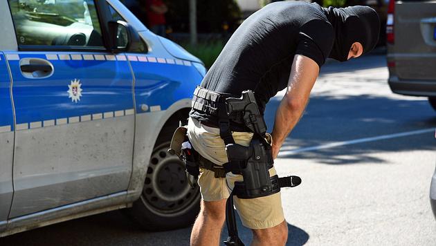 Bewaffneter verschanzte sich in Kino: Erschossen! (Bild: APA/dpa/R.Priebe/Pr-Video)