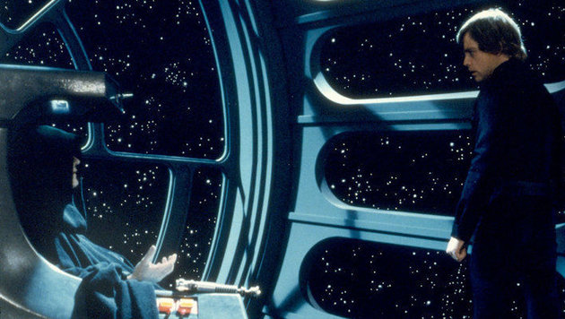 Luke beim Imperator (Bild: LucasFilm)