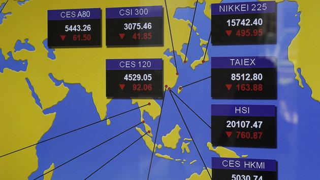 Chaostage für weltweite Wirtschaft nach Brexit (Bild: AP)