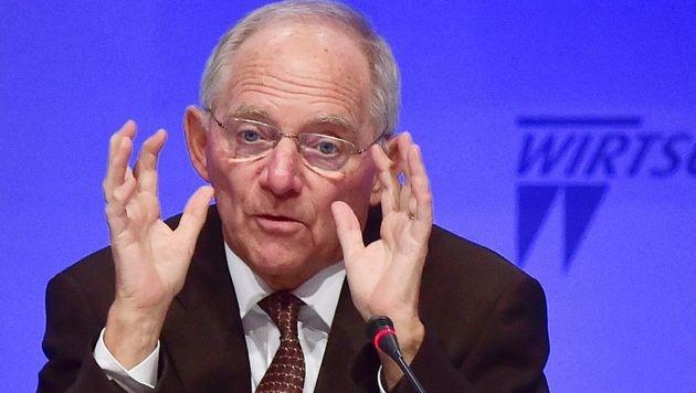 Deutschlands Finanzminister Schäuble (Bild: APA/AFP/JOHN MACDOUGALL)