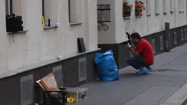 Wien: Bauunternehmer bei Schussattentat getötet (Bild: APA/HERBERT P. OCZERET)