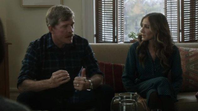 Thomas Haden Church und Sarah Jessica Parker als Ehepaar vor dem Neuanfang (Bild: YouTube.com / HBO)