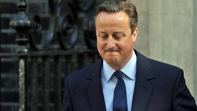 """Cameron tritt ab: """"Bin nicht der richtige Kapitän"""" (Bild: APA/AFP/Adrian Dennis)"""