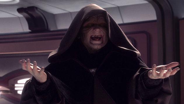 """So kennen wir den Imperator in """"Star Wars"""". (Bild: LucasFilm)"""