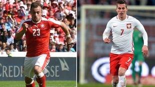 Schweiz und Polen um historische Chance (Bild: AFP)