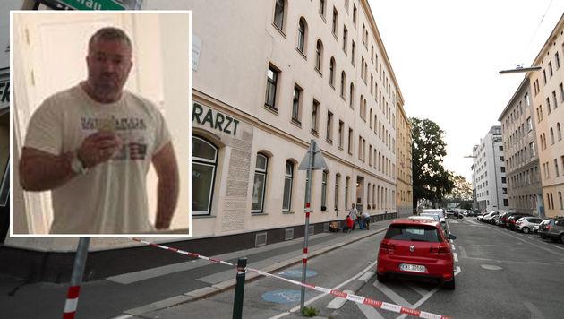 Der Bauunternehmer Davud D. wurde vor seinem Wohnhaus erschossen. (Bild: APA/HERBERT P. OCZERET, Privat)