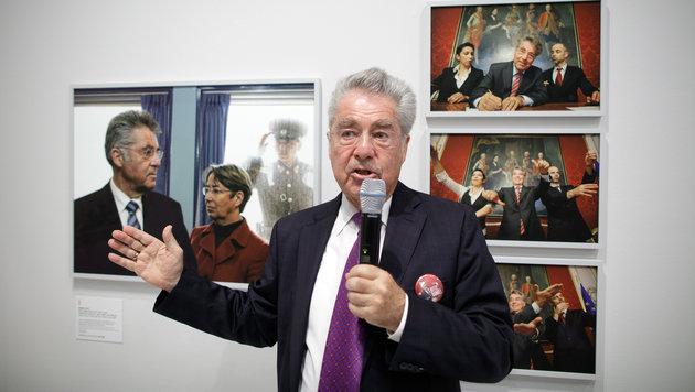 """FPÖ: """"Migrationswahn"""" wurde von Briten bestraft (Bild: APA/GEORG HOCHMUTH)"""