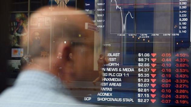 Chaostage für weltweite Wirtschaft nach Brexit (Bild: AFP)