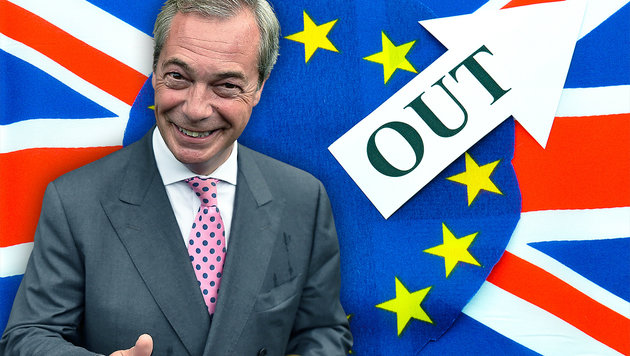 Nigel Farage (Bild: thinkstockphotos.de, AFP/BEN STANSALL)