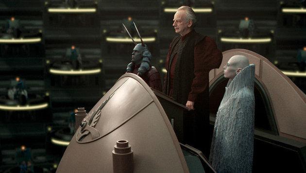 Noch ist er Kanzler, doch Darth Sidous möchte mehr Macht. (Bild: LucasFilm)