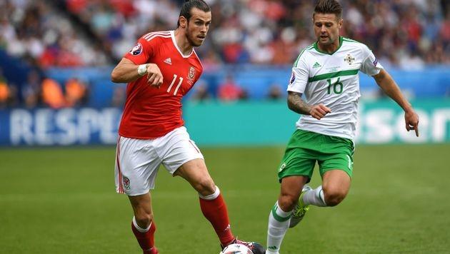 Gareth Bale kann nur schwer vom Ball getrennt werden. (Bild: AFP)