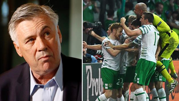 Carlo Ancelotti traut Irland die Überraschung zu (Bild: AP)