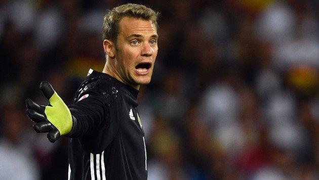 "DFB-Goalie Neuer mahnt vor ""Hurra-Schreien"" (Bild: APA/AFP/MARTIN BUREAU)"