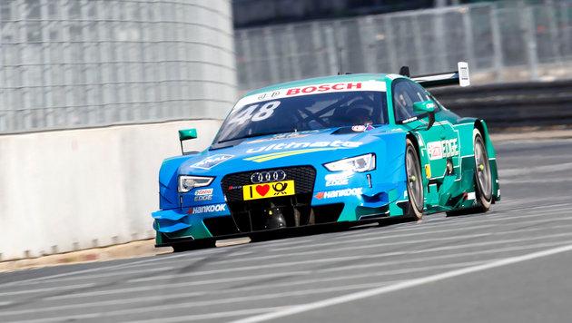 DTM: Audi-Fahrer Mortara gewinnt - Auer 13. (Bild: GEPA)