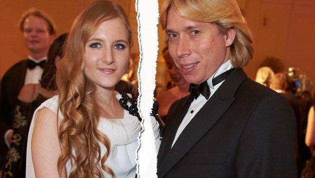 Früher nur im Doppelpack: Jacqueline Lugner und Helmut Werner (Bild: Alexander Tuma)