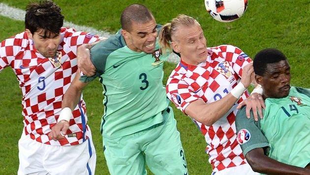 "Portugal erringt 1:0 in ""Gruselduell"" mit Kroatien (Bild: AFP)"