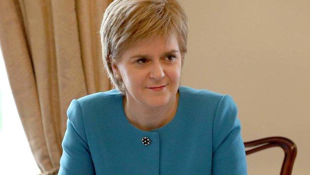 Nicola Sturgeon (Bild: APA/AFP/Jane Barlow)