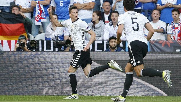 Deutsche Dampfwalze überrollt Slowakei mit 3:0! (Bild: AP)