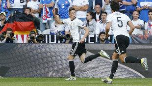 Deutsche Dampfwalze �berrollt Slowakei mit 3:0! (Bild: AP)