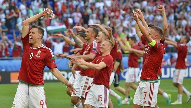 ÖFB-Stolperstein Ungarn kämpft um das Wunder (Bild: AP)