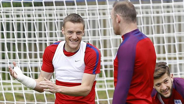 Rooney: Zank mit Vardy wegen dessen Frau? (Bild: AP)