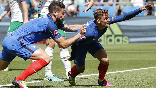 Schock folgt Griezmann-Show! Frankreich weiter (Bild: AP)