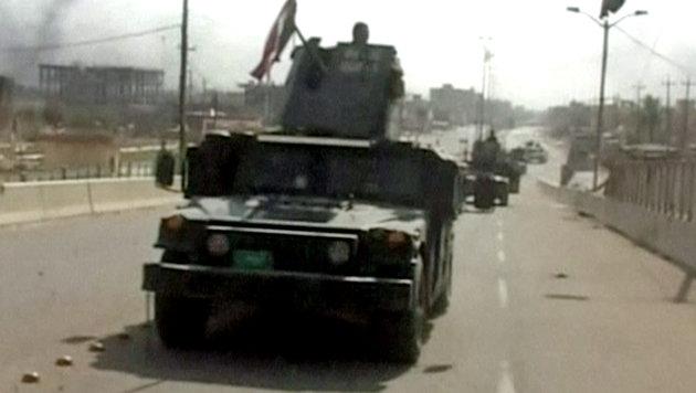 Irakische Armee verkündet Befreiung von Falludscha (Bild: Associated Press)