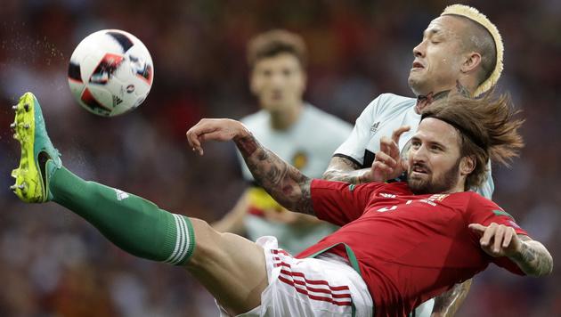4:0! Belgier werfen Österreich-Schreck Ungarn raus (Bild: AP)