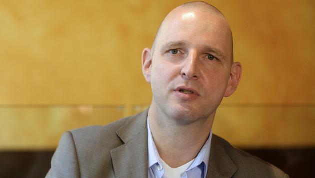 Eckehard Quin, Vorsitzender der AHS-Gewerkschaft (Bild: APA/GEORG HOCHMUTH)