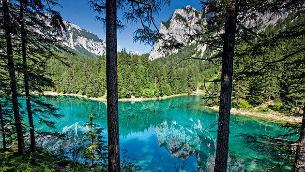 Der Grüne See, das schönste Platzl Österreichs (Bild: Peter Tomschi)