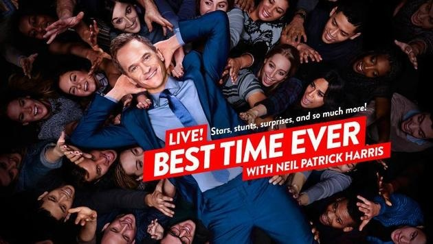 """Best Time Ever"" mit Neil Patrick Harris (Bild: 2015 Over The Pond Productions, Inc.)"