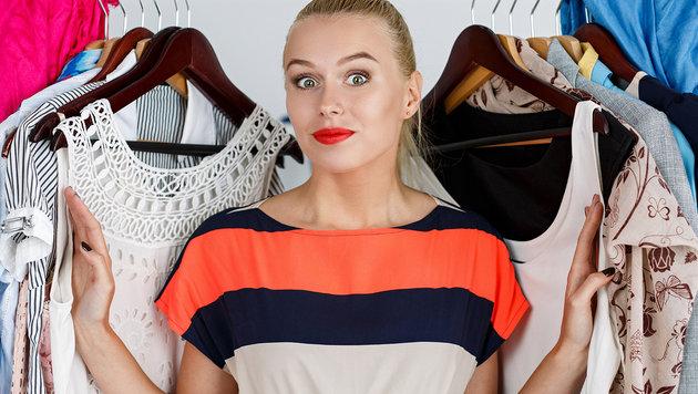 Diese Tricks helfen beim zu kleinen Kleiderschrank (Bild: thinkstockphotos.de)