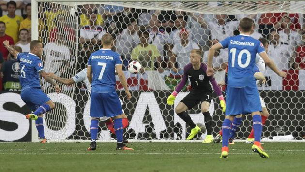 Schade, England! Jetzt seid ihr auch aus EURO raus (Bild: AP)