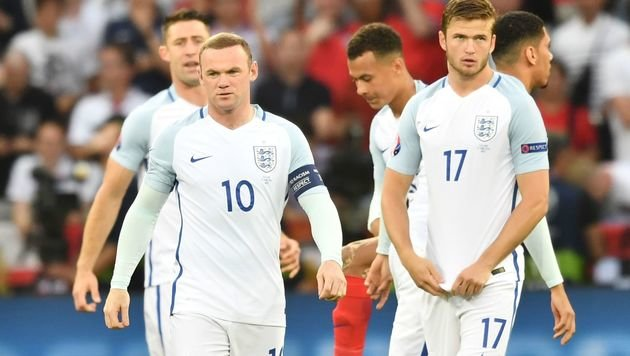Schade, England! Jetzt seid ihr auch aus EURO raus (Bild: AFP)