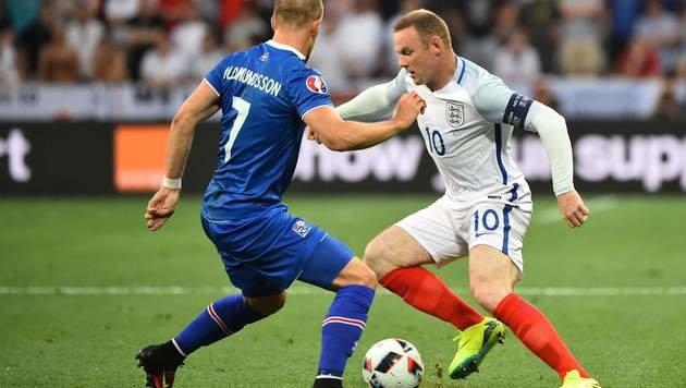 Schade, England! Jetzt seid ihr auch aus EURO raus (Bild: AFP or licensors)