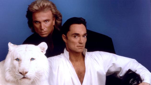 2003 endete die Karriere von Siegfried & Roy, als Roy von einem Tiger schwer verletzt wurde. (Bild: AFP)