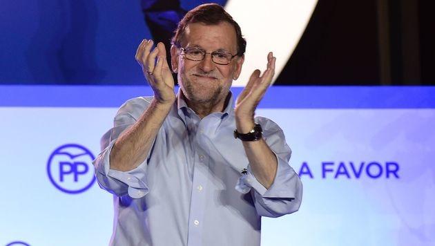 Mariano Rajoy (Bild: APA/AFP/JOSE JORDAN)