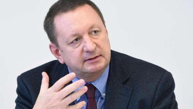 Gernot Schreyer, Präsident des Bundeselternverbands (Bild: APA/HELMUT FOHRINGER)