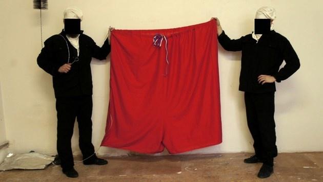 Das Corpus Delicti (Bild: AFP)