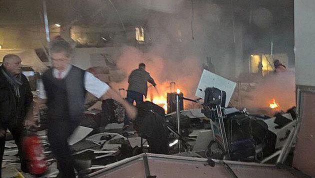 47 Tote bei Anschlag auf Istanbuler Flughafen (Bild: twitter.com/CCN Türk)