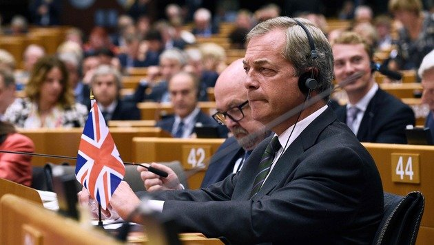 Nigel Farage (Bild: AFP)