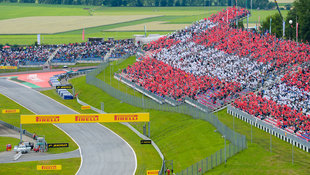 """Formel 1: """"Passables"""" Wetter in Spielberg erwartet (Bild: GEPA)"""