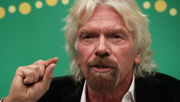"""Milliardär Branson: """"Wir steuern auf Desaster zu"""" (Bild: APA/AFP/Getty Images/Alex wong)"""