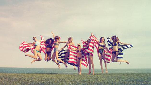 Taylor Swift feiert den Nationalfeiertag gern mit Freundinnen. (Bild: Viennareport)