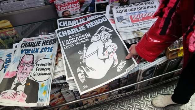 """Erneut Morddrohungen gegen """"Charlie Hebdo"""" (Bild: APA/AFP/JACQUES DEMARTHON)"""