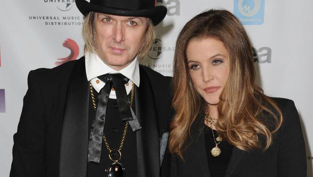 Lisa Marie Presley lässt sich von Michael Lockwood nach zehn Jahren Ehe scheiden. (Bild: AP)